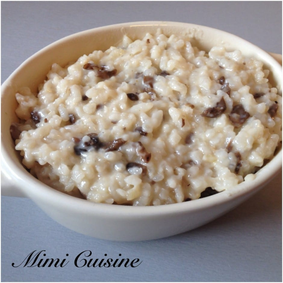 risotto champignons recette cookeo mimi cuisine. Black Bedroom Furniture Sets. Home Design Ideas
