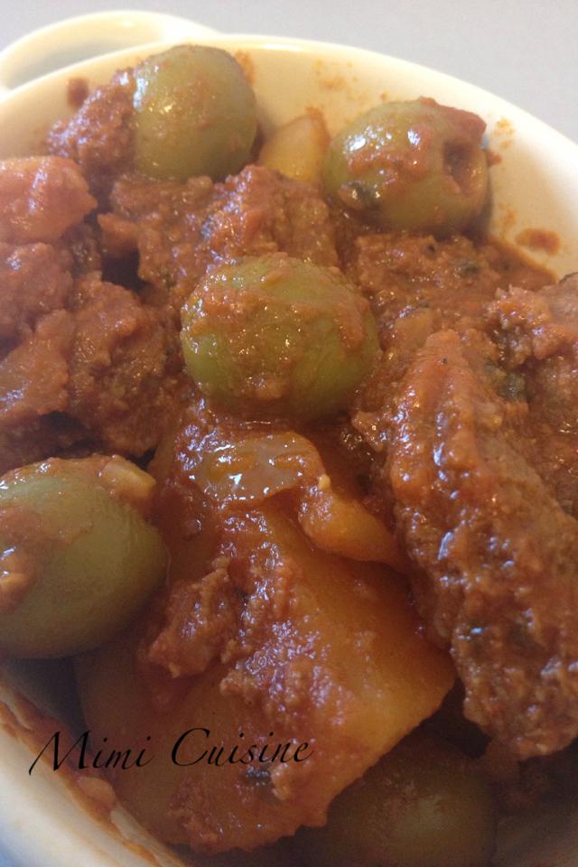 Tajine Bœuf Olives Recette Cookeo Mimi Cuisine