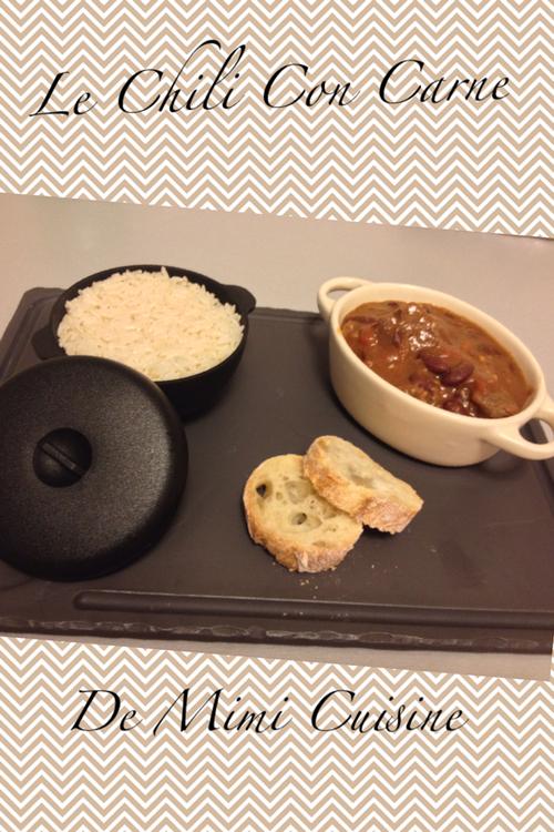 Chili con carne recette cookeo mimi cuisine - Recette chili cone carne thermomix ...