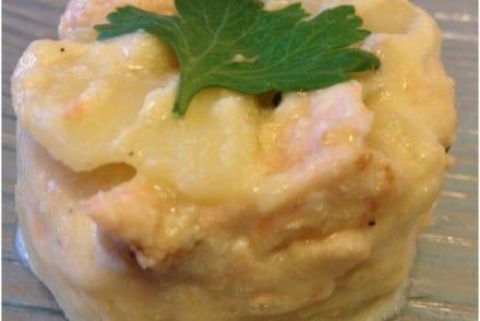 Pomme de terre fondante Saumon frais recette cookeo