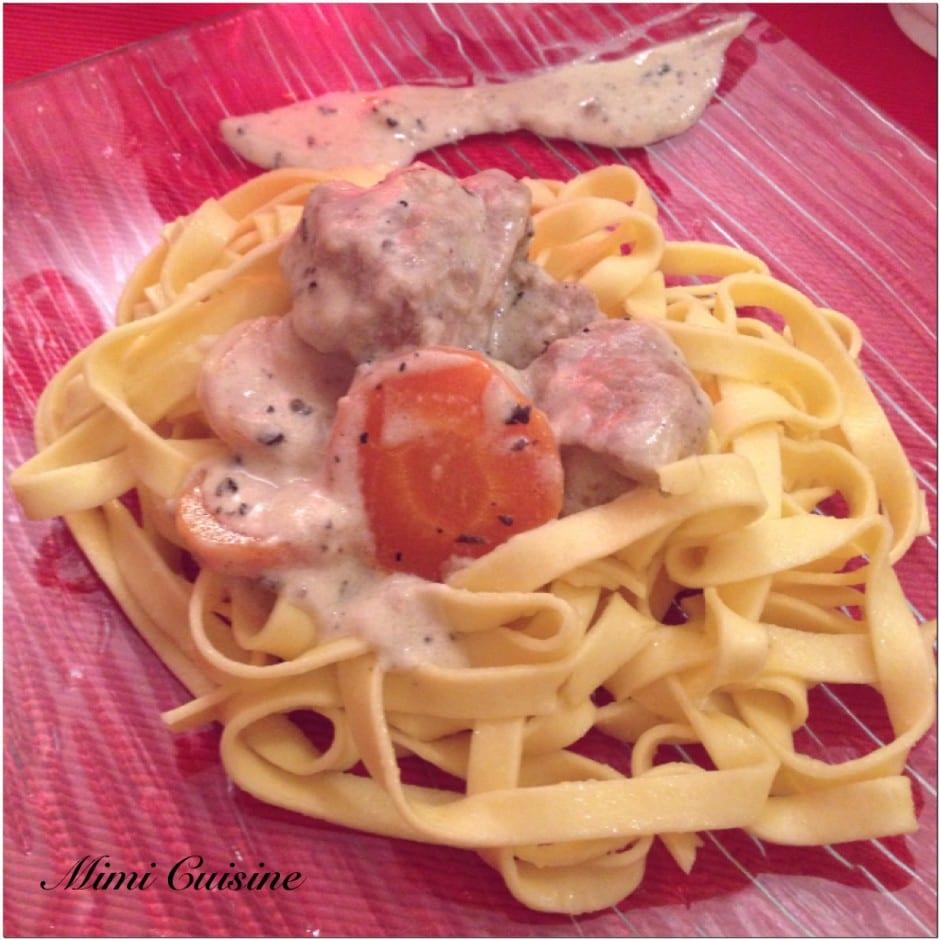 Sauté de veau sauce aux truffes Recette Cookeo