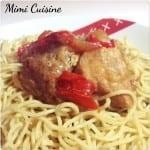 Sauté de porc à l'asiatique Recette Cookeo