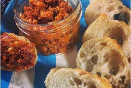 Tartinade de tomates séchées Recette Companion