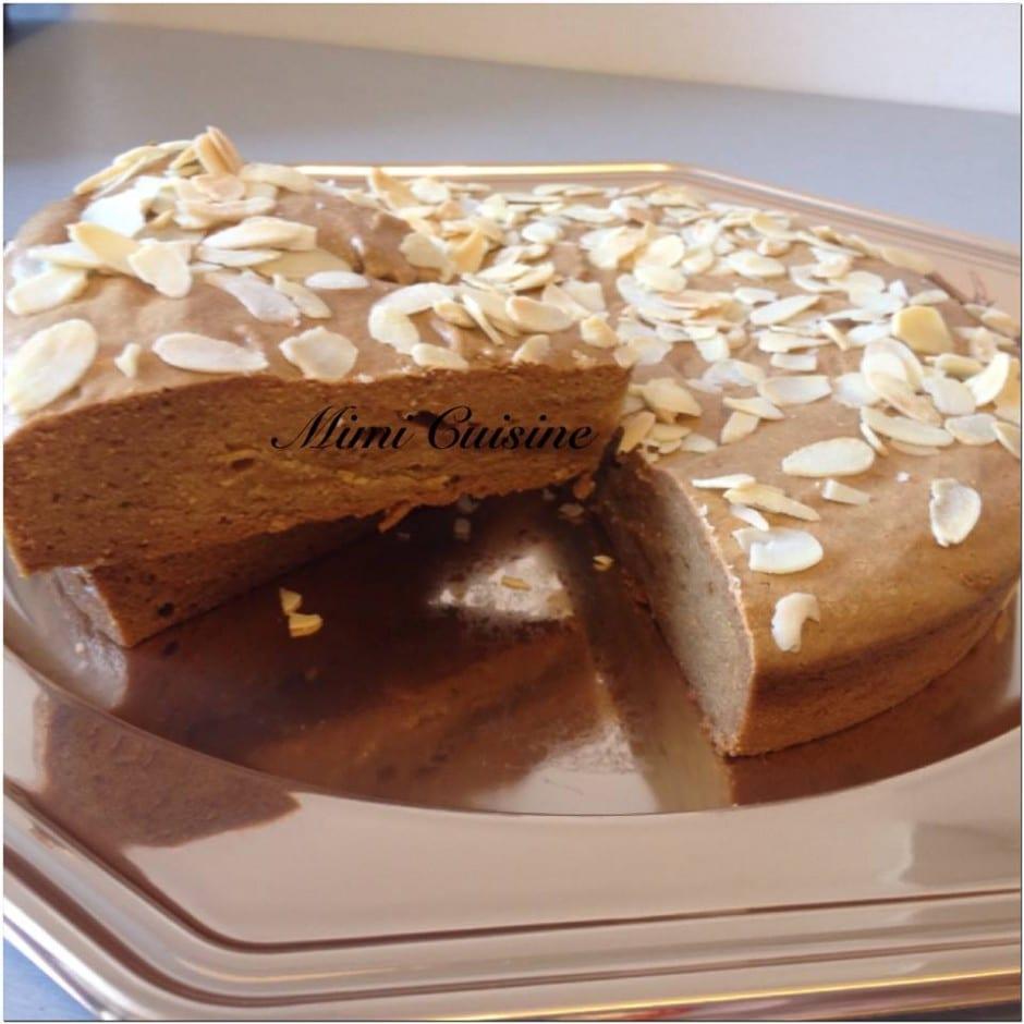 Gâteau amande et farine de pois chiche Companion