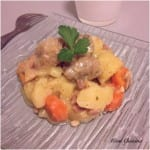 Sauté de porc Roquefort pommes de terre carottes Cookeo