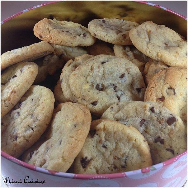 Cookies aux pépites de chocolat Recette Companion
