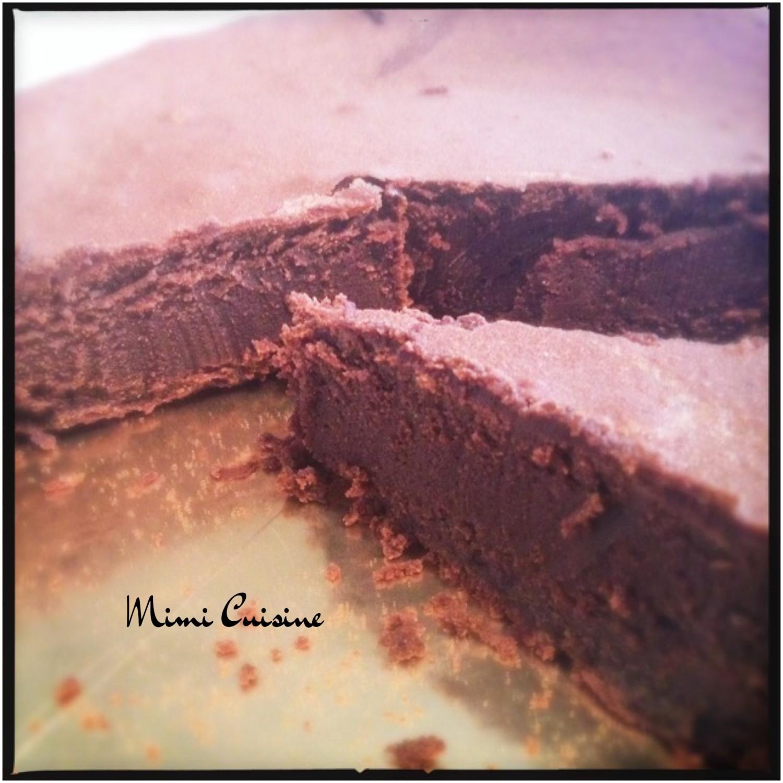Gateau creme de marron et chocolat micro onde