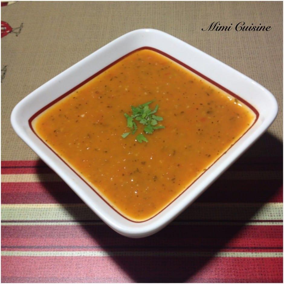 Sauce tomate recette companion mimi cuisine for Sauce tomate cuisinee