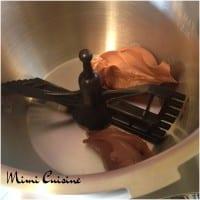 Tarte amandine poire ganache chocolat chantilly chocolat au lait