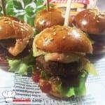 Minis burgers au Maroilles