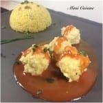 Croquettes de poisson et sa sauce rouge Companion