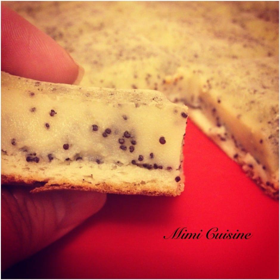 Gâteau Flan Citron Pavot Recette Companion