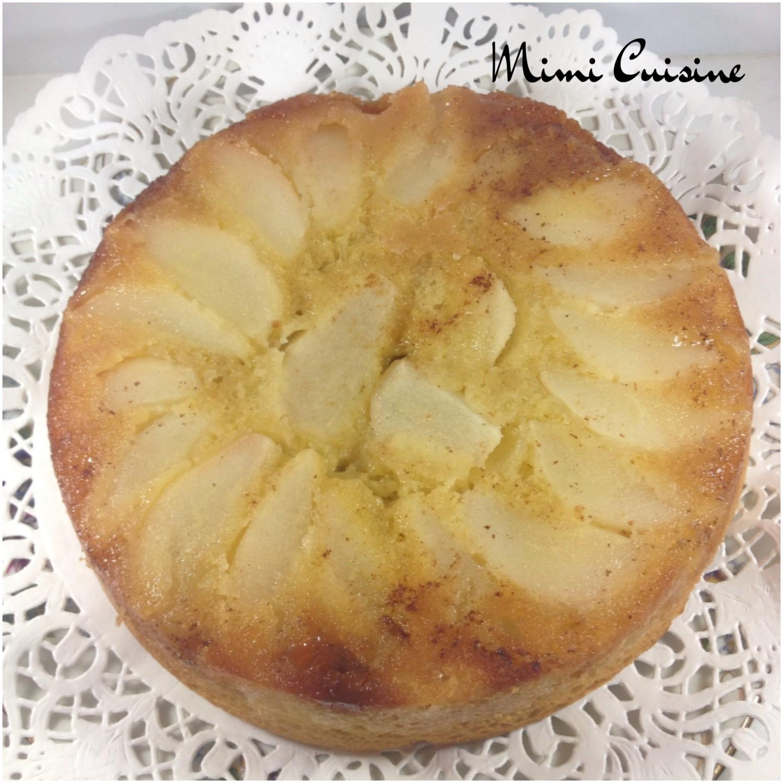 Recette Cake Poire Et Noisette