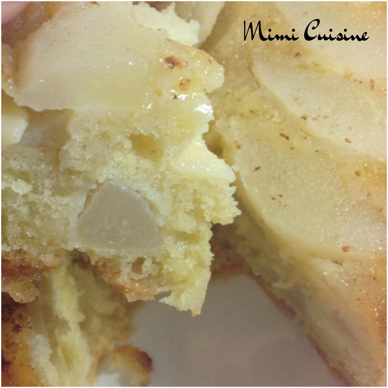 Recette Cake Poire Caramelise