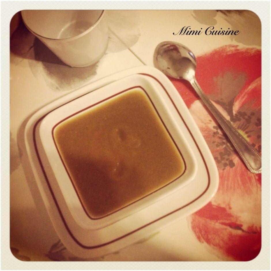 Soupe de légumes Recette Companion