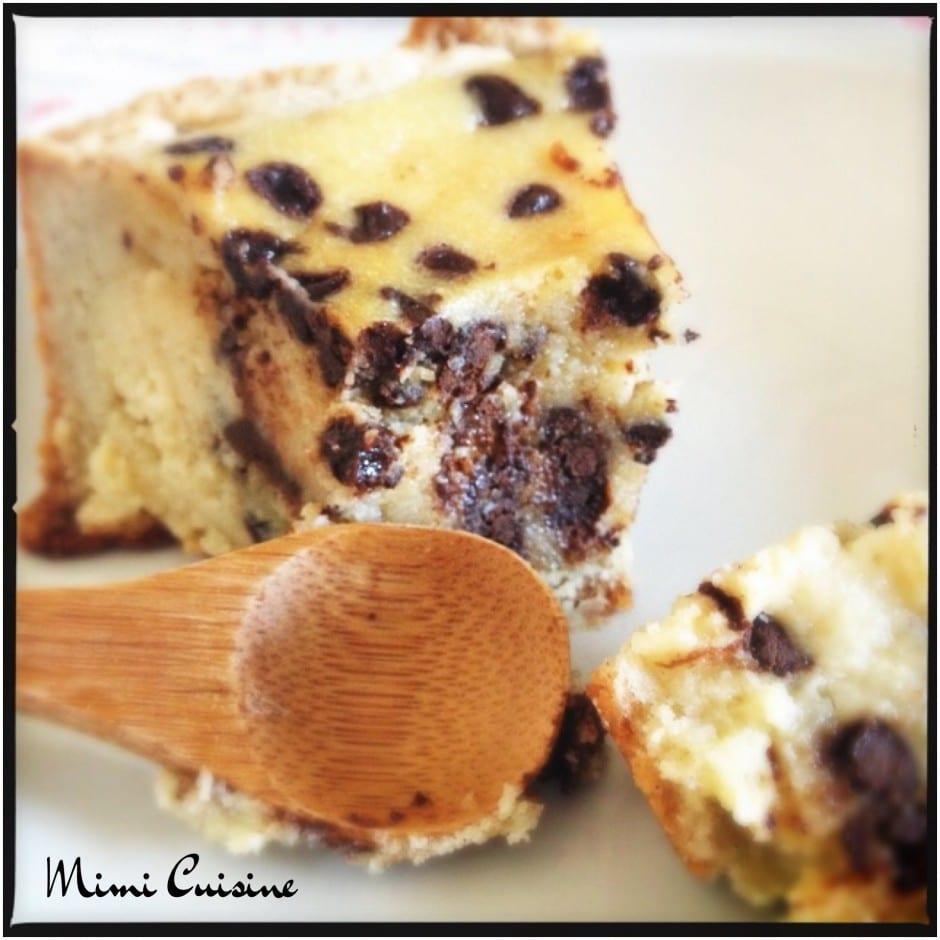 Tarte amandine pépites de chocolat Recette Companion