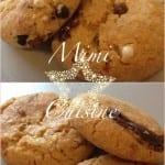 Cookies vanille chocolat