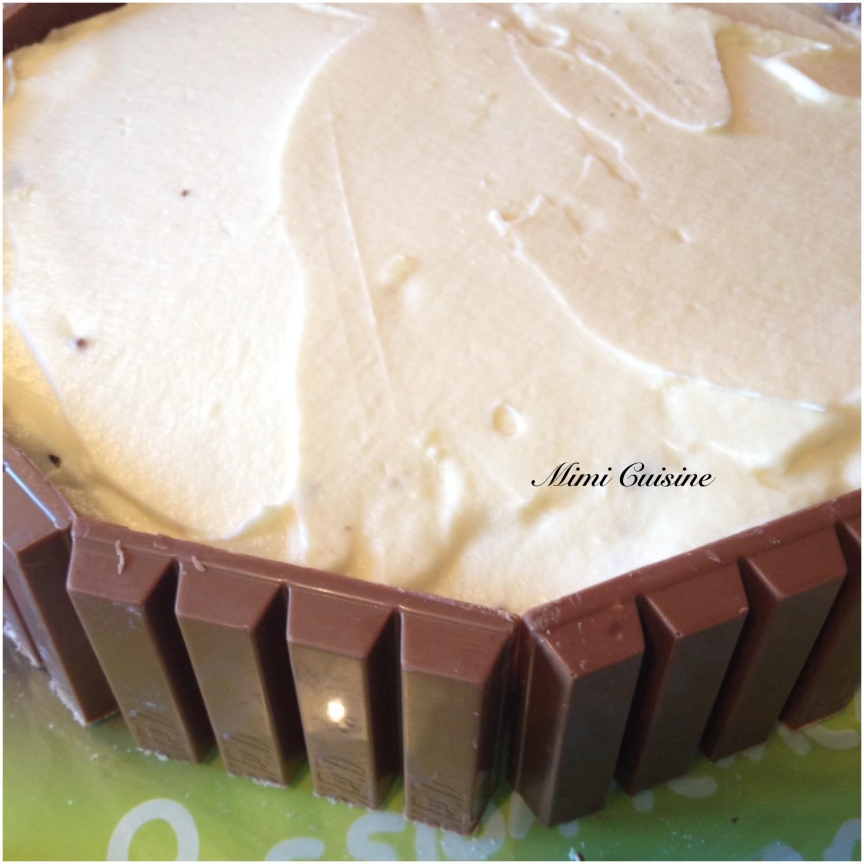 Layer Cake Chocolat Blanc
