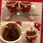 MUG CAKE Chocolat Caramel