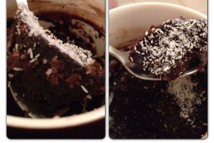 MUG Cake tout Chocolat