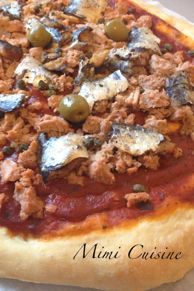 Pizza Thon Sardine
