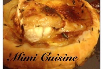 Tartelette fine Chèvre Caramel au beurre salé