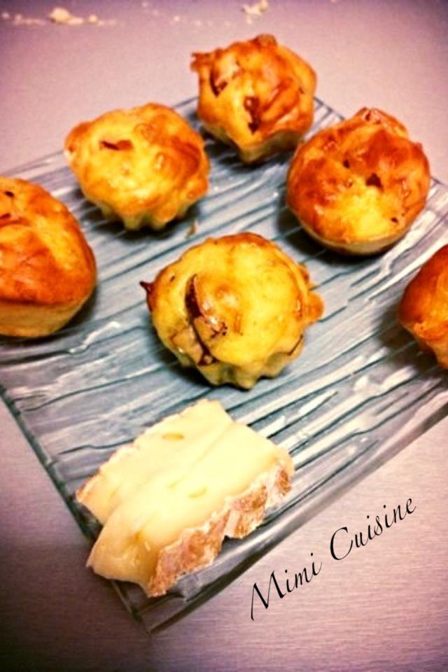 minis muffins saint nectaire saucisse de francfort. Black Bedroom Furniture Sets. Home Design Ideas