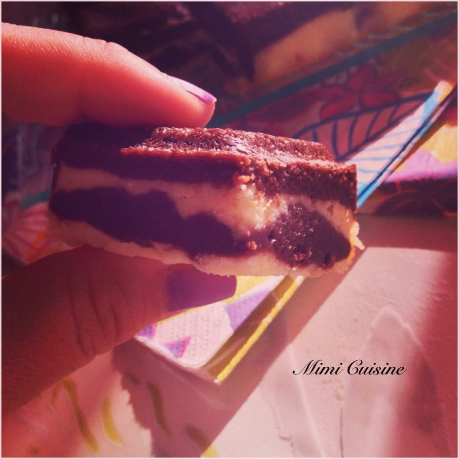 Browcheese entre brownies et cheese cake