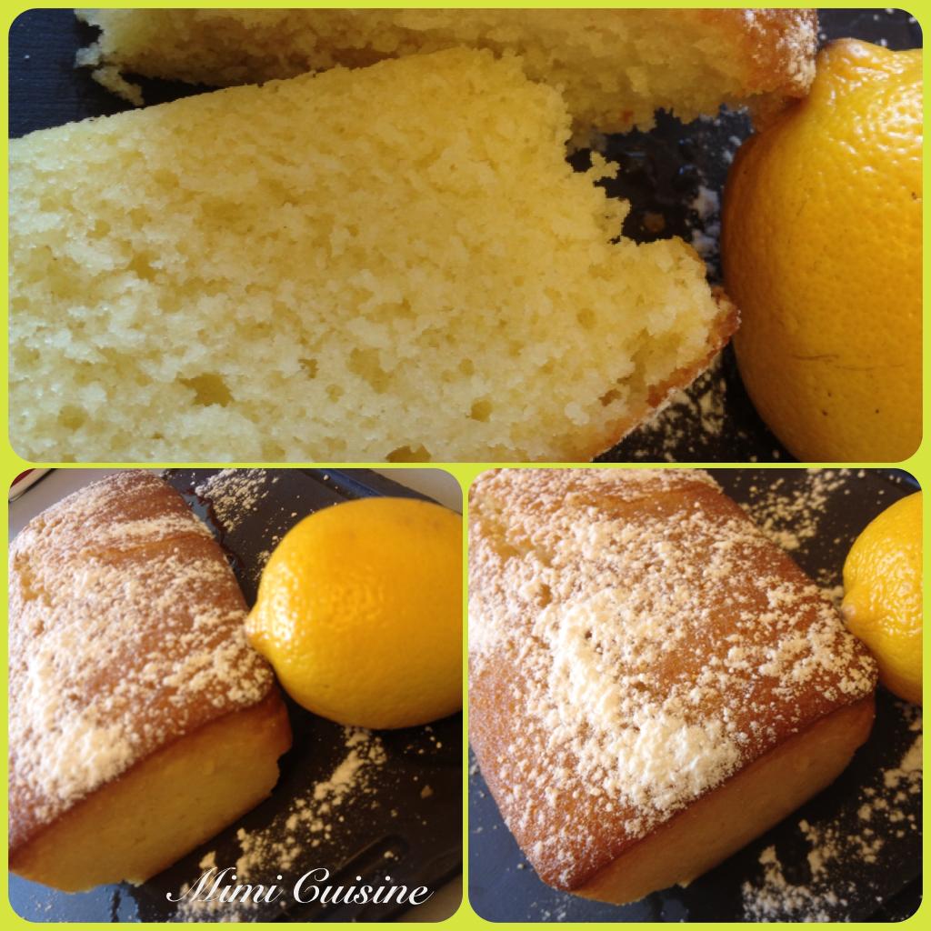 Cake Au Citron Moelleux Thermomix