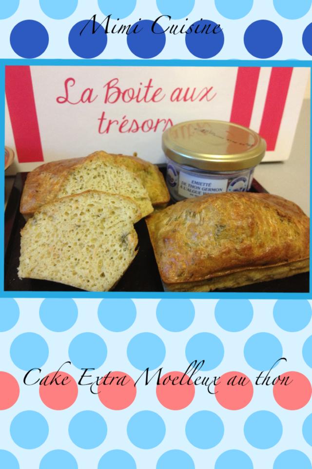 Cake au thon extra moelleux