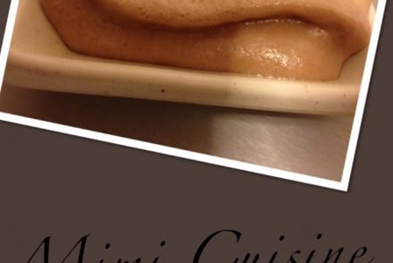 Chantilly au Nutella avec Siphon