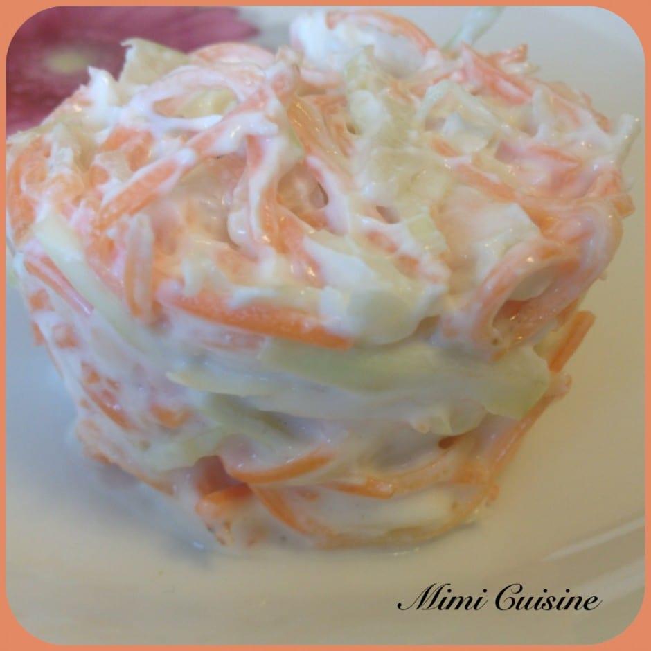 Coleslaw allégé