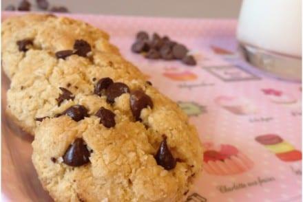 Cookies Noix de Coco Pépites de Chocolat