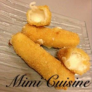 mozzarella stick mimi cuisine. Black Bedroom Furniture Sets. Home Design Ideas