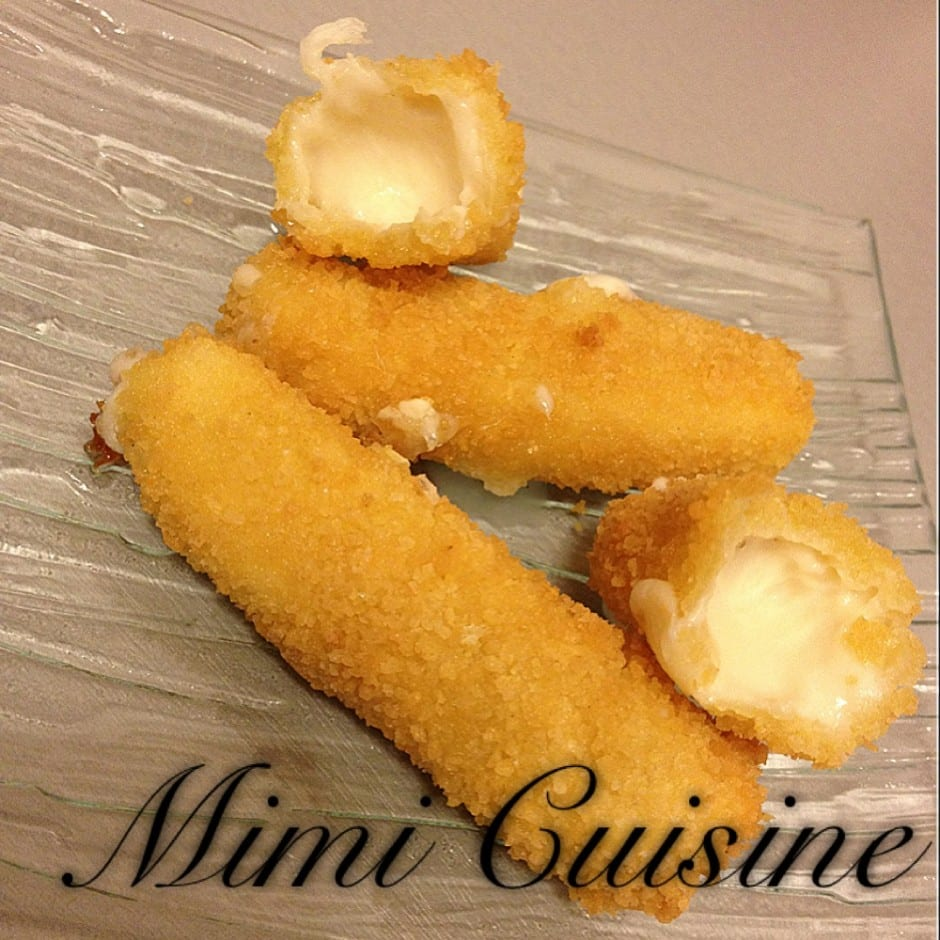 mozzarella stick mimi cuisine. Black Bedroom Furniture Sets. Home Design Ideas
