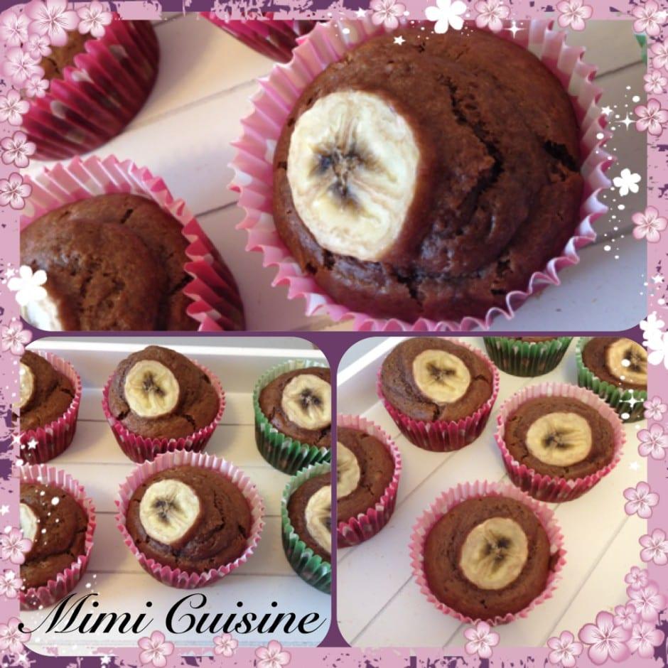Muffins Chocolat Banane