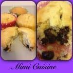Muffins Vanille Pépites de Chocolat