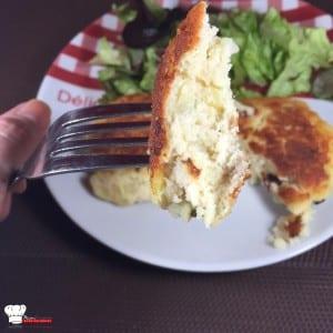 Croquettes de pommes de terre poulet