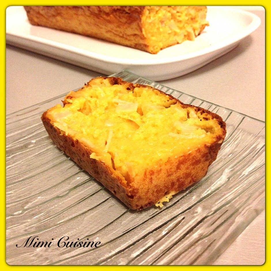 Cake Poulet Cheddar