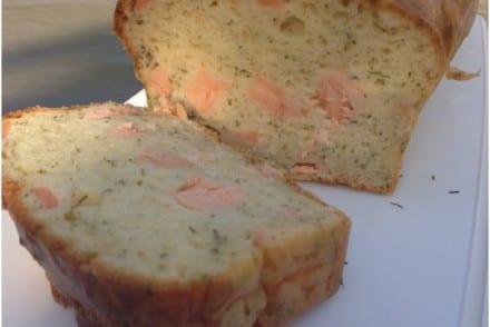 Cake saumon frais aneth