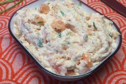 Rillettes saumon fumé ciboulette Recette Companion
