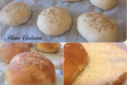 Pains hamburgers Recette Thermomix