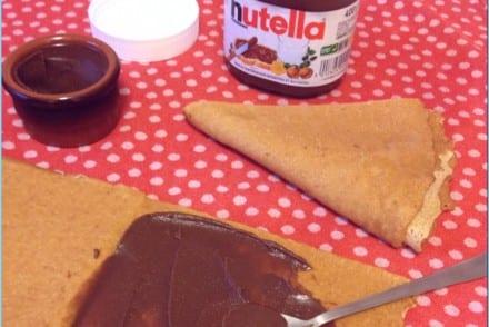 Pâte à tartiner noisettes Nutella Recette Thermomix