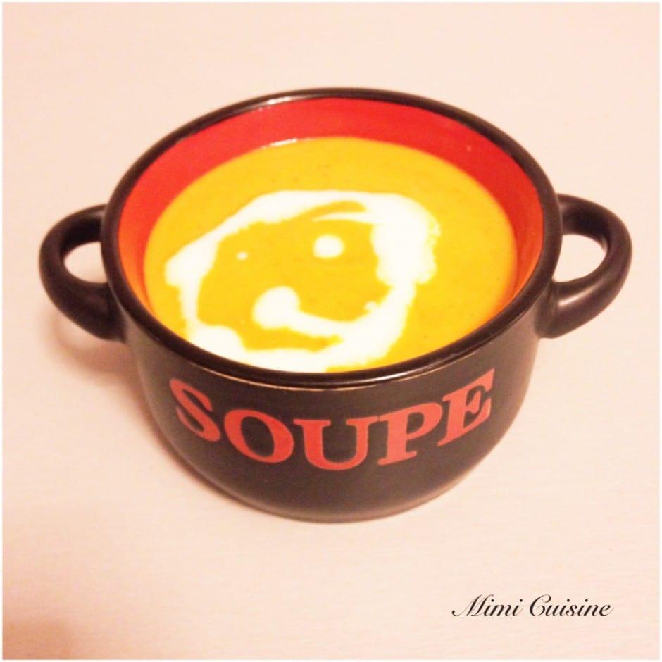 soupe de poivrons recette thermomix mimi cuisine. Black Bedroom Furniture Sets. Home Design Ideas