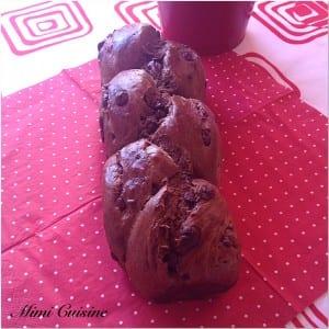 Brioche chocolat pépites chocolat lait Recette Thermomix