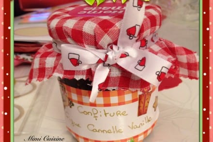 Confiture figue cannelle vanille Recette Thermomix