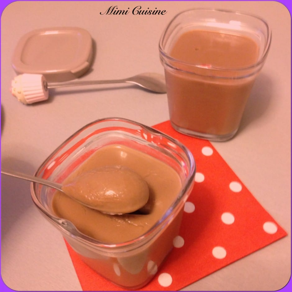 Cremes Dessert Chocolat Au Lait Recette Thermomix Mimi Cuisine