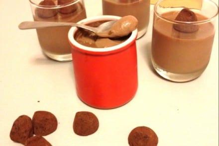 Crèmes dessert aux truffes Recette Thermomix
