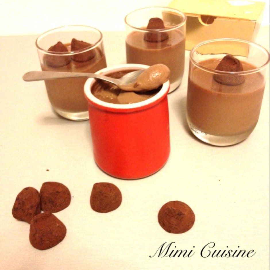 Cr mes dessert aux truffes recette thermomix mimi cuisine - Recette dessert rapide thermomix ...