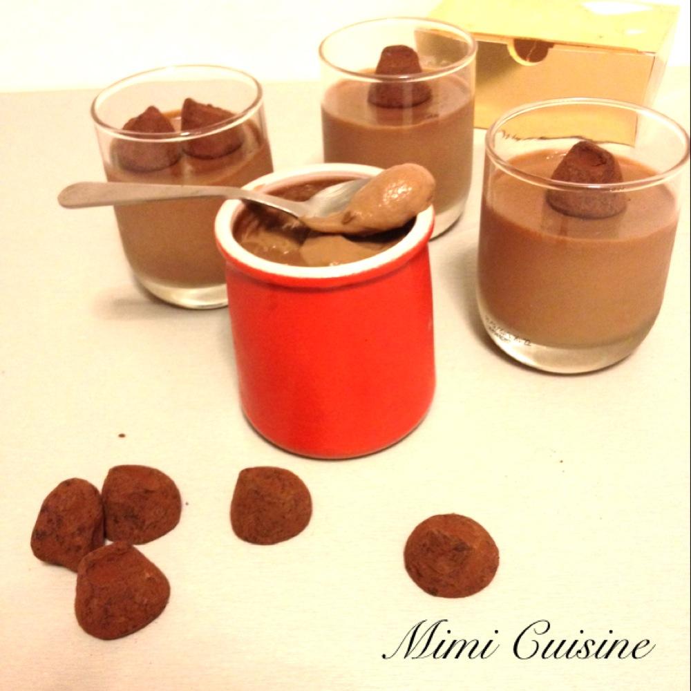 cr mes dessert aux truffes recette thermomix mimi cuisine. Black Bedroom Furniture Sets. Home Design Ideas